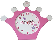 Kidoz Crown Shaped Clock
