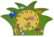Kidoz Animal Shaped Clock