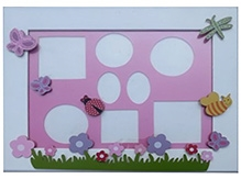 Kidoz Butterfly Print Frame