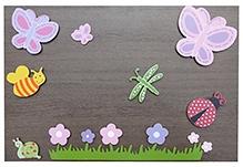 Kidoz Wooden Butterfly Motifs