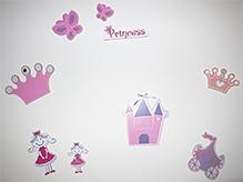 Kidoz Wooden Princess Motif