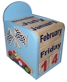 Kidoz Car Motif Calendar