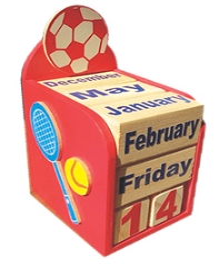 Kidoz Sports Motif Calendar