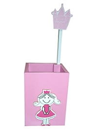 Kidoz Princess Motif Pencil Stand Box