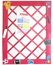 Kidoz Sports Motif Pin Board