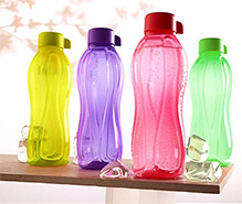 Tupperware Bottles 1 Liter - Pack Of 2