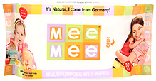 Mee Mee Multipurpose Wet Wipes - 30 Pieces