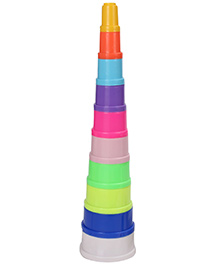 Kumar Toys Colourful Blocks Game Beaker Box