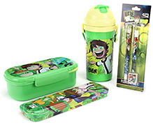 Ben 10 Back To School Kit - Pack Of 4