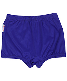Bosky Plain Blue Swimming Trunks