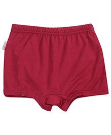 Bosky Swimwear Solid Colour Trunks - Maroon