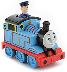 Thomas and Friends Press and Go Thomas- Blue