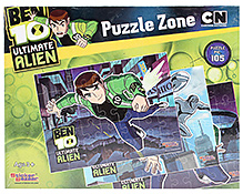 Ben 10 Ultimate Alien Puzzle - Set Of 3