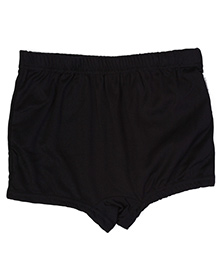 Bosky Plain Black Swimming Trunks