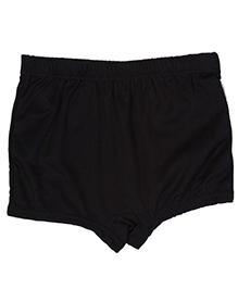Bosky Plain Black Swimming Trunks