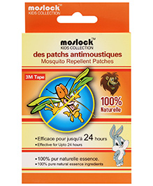 Moslock Kids Collection Mosquito Repellent Patches - 6 Packs Of 2 Patches Each