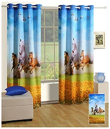 Swayam Digitally Printed Premium Cosmo Fashion Window Curtain - Single Piece - 377967