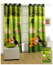 Swayam Digitally Printed Premium Cosmo Fashion Door Curtain - Single Piece - 377974