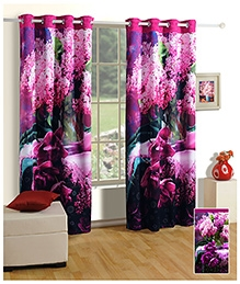Swayam Digitally Printed Premium Cosmo Fashion Door Curtain - Single Piece - 377980