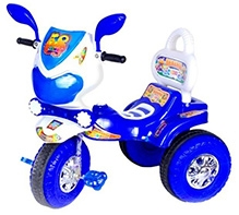 Cosmo Tricycle - Blue and White
