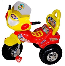Cosmo Little Angle Tricycle - Red and Yellow