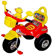 Cosmo Baby World Tricycle - Red and Yellow