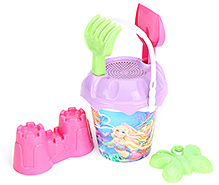 Barbie Small Bucket Set With Accessories