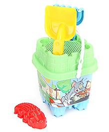 Tom And Jerry Small Castle Bucket Set