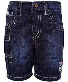Gini & Jony Stone Wash Denim Shorts - Blue