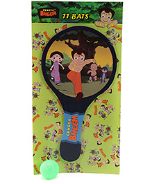 Prasima Toys Race Theme Chhota Bheem Table Tennis Set- Single
