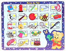 Parisma Toys Puzzle Match the Pair