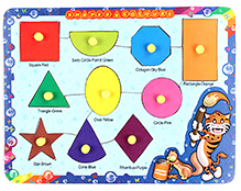 Parisma Toys Shapes And Colours Puzzle