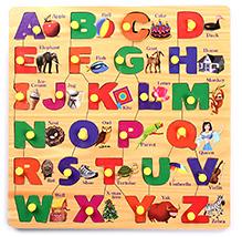 Parisma Toys Alphabet Puzzle - Square