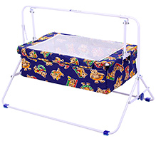 Mothertouch Baby Cradle ABC Teddy Printed