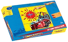 Sterling My Cube Puzzle Game- Hot Wheels