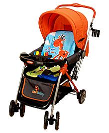 Sunbaby Stroller - Orange Giraffe