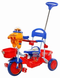 Sunbaby Tricycle- Blue and Red