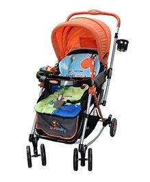 Sunbaby Jungle Theme Rocking Stroller 300 X - Orange