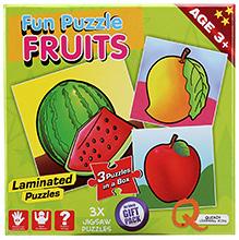 Quixot Fun Puzzle Fruits