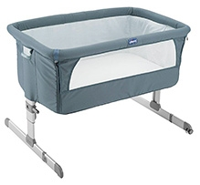 Chicco Next 2 ME Co Sleeping Crib - Graphite Gray