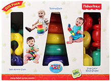 Fisher Price Brilliant Basics Gift Set- 3 Games