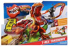 Hotwheels T-Rex Takedown Track Set
