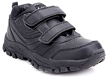 Kittens Casual Shoes with Velcro Strap - Black