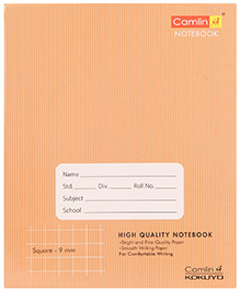Camlin Square Notebook Brown - 160 Pages