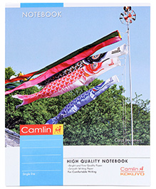 Camlin Single Line Notebook - 160 Pages