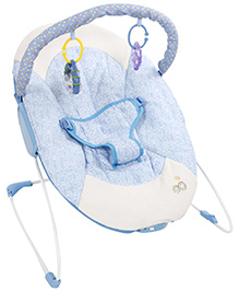 Fab N Funky Portable Baby Bouncer - Blue