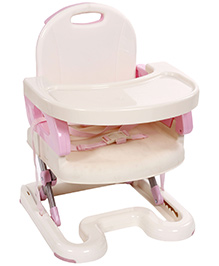 Mastela Booster to Toddler Seat - Pink And Cream