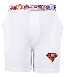 Cucumber Superman Print Shorts