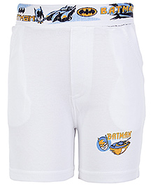 Cucumber Shorts White - Batman Print