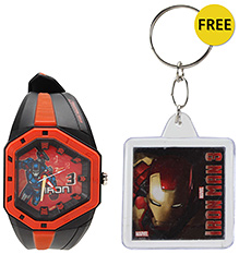 Titan Zoop Iron Man Analog Wrist Watch - Red and Black